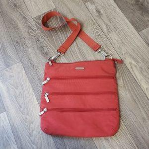 Baggallini Crossbody Bag Salmon Red